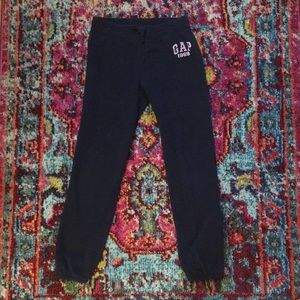 NWOT Gap girls navy joggers